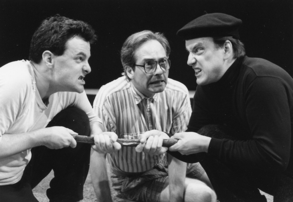 Jonathan Putnam, Michael Harper and Kevin Hayes in DOGS DO by Jonathan Putnam