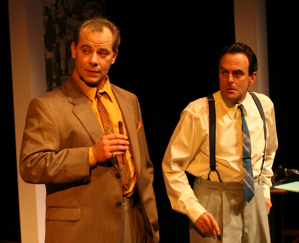 Mark Mann and Jonathan Putnam in the World Premiere of Herb Brown's YOU'RE MY BOY