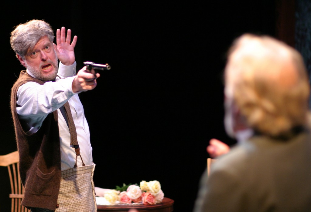Geoffrey Nelson and Jon Farris in UNCLE VANYA by Anton Chekhov