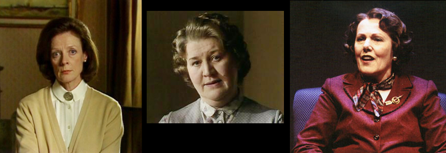 Maggie Smith, Patricia Routledge and Lynn Redgrave