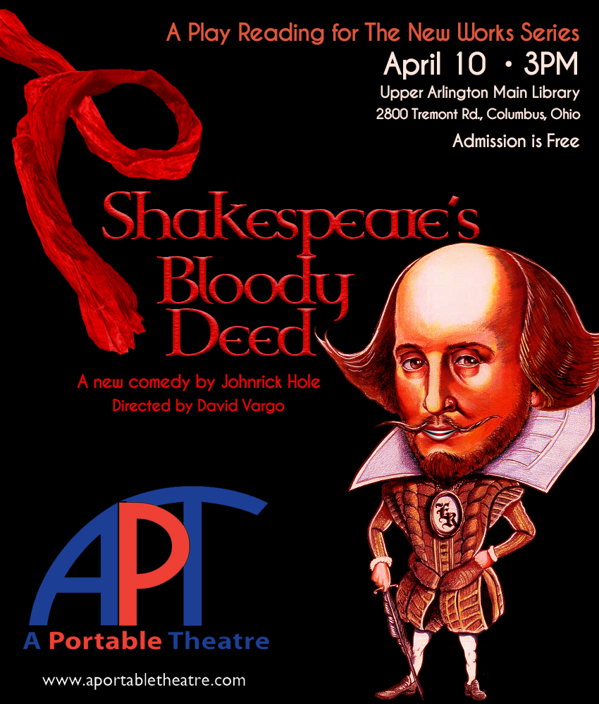 A portable theatre play reading shakespeare s bloody for Apt theater schedule